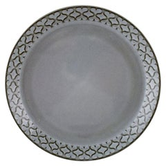 Bing & Grondahl Number 308, Set of 18 Dinner Plates, B & G Grey Cordial