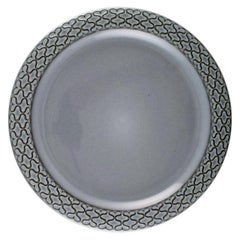 Bing & Grondahl Number 624, Set of 10 Dinner Plates, B & G Grey Cordial