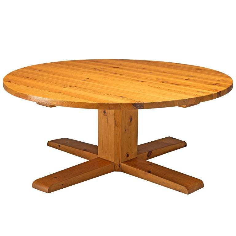 5.6ft / 175cm Spanish Dining Table in Solid Pinewood For Sale