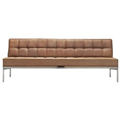 Johannes Spalt 'Constanze' Sofa in Taupe Leather