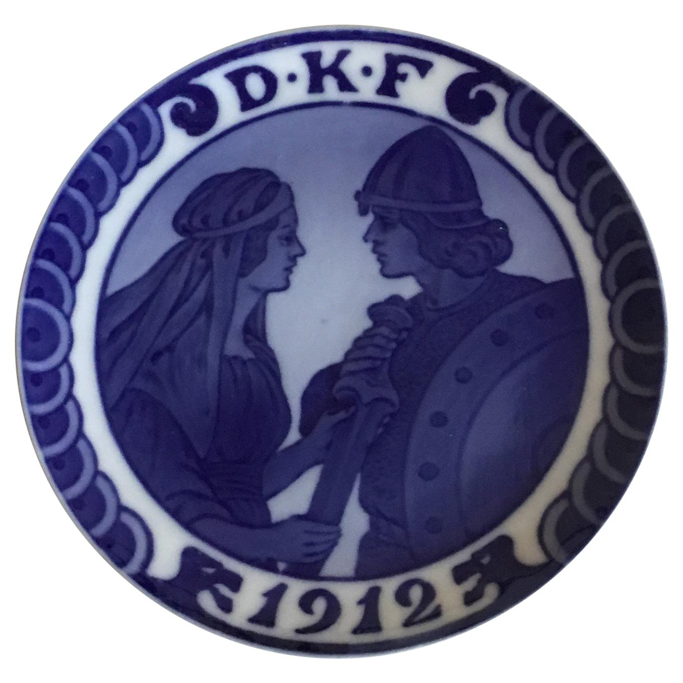Royal Copenhagen Commemorative Plate from 1912 RC-CM136