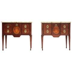 Pair of Louis XVI Dressers, Paris, 1790s