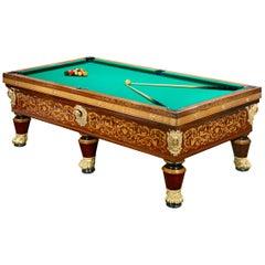 General Clauzel's Charlex X Billiard Table