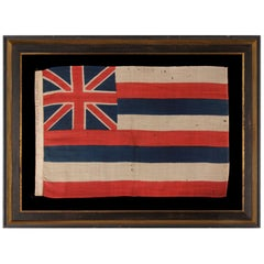 The Earliest Flag of the Hawaiian Island , Produced by Horstmann & Brothers