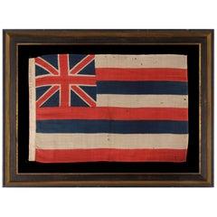 The Earliest Flag of the Hawaiian Island , Produced by Horstmann & Brothers