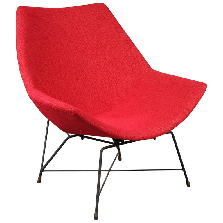 """Kosmos"" Chair by Augusto Bozzi for Saporiti, Italy, 1954 For Sale"