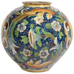 16th Century Renaissance Italian Maiolica Vase Venice, circa 1570