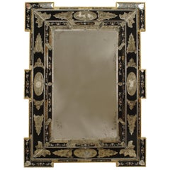 Italian Venetian Etched Wall Mirrors