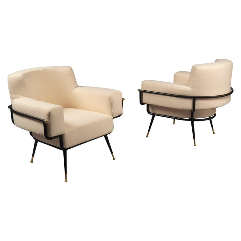 Pair of Armchairs, France, 2019 For Sale