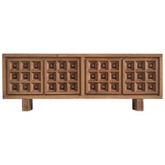 Spanish Custom Made Sideboard in Stained Pine