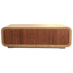 Oak and Rosewood Credeza by Steve Chase