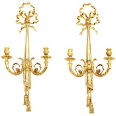 Midcentury Wall Sconces Louis XVI Style