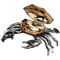 Sterling Silver Salt Crab