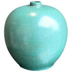 20th Century Vintage Green Swedish Vase