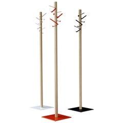 Modern White Tall Duck-Beak Coat Hanger