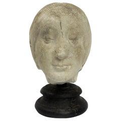 Italy 1890 circa, Academic Cast Depicting Eleonora D'aragona Head