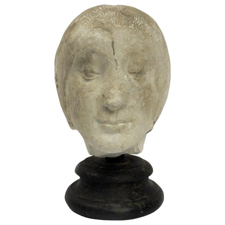 Italy 1890 circa, Academic Cast Depicting Eleonora D'aragona Head For Sale