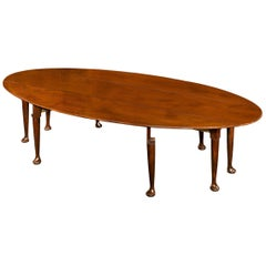 Irish Mahogany Wake Table