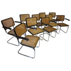 Marcel Breuer Cesca Dining Chairs for Thonet