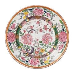18th Century Italian Maiolica Dish Milano, circa 1770