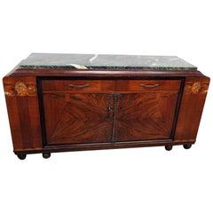 Regency Style Marble-Top Sideboard