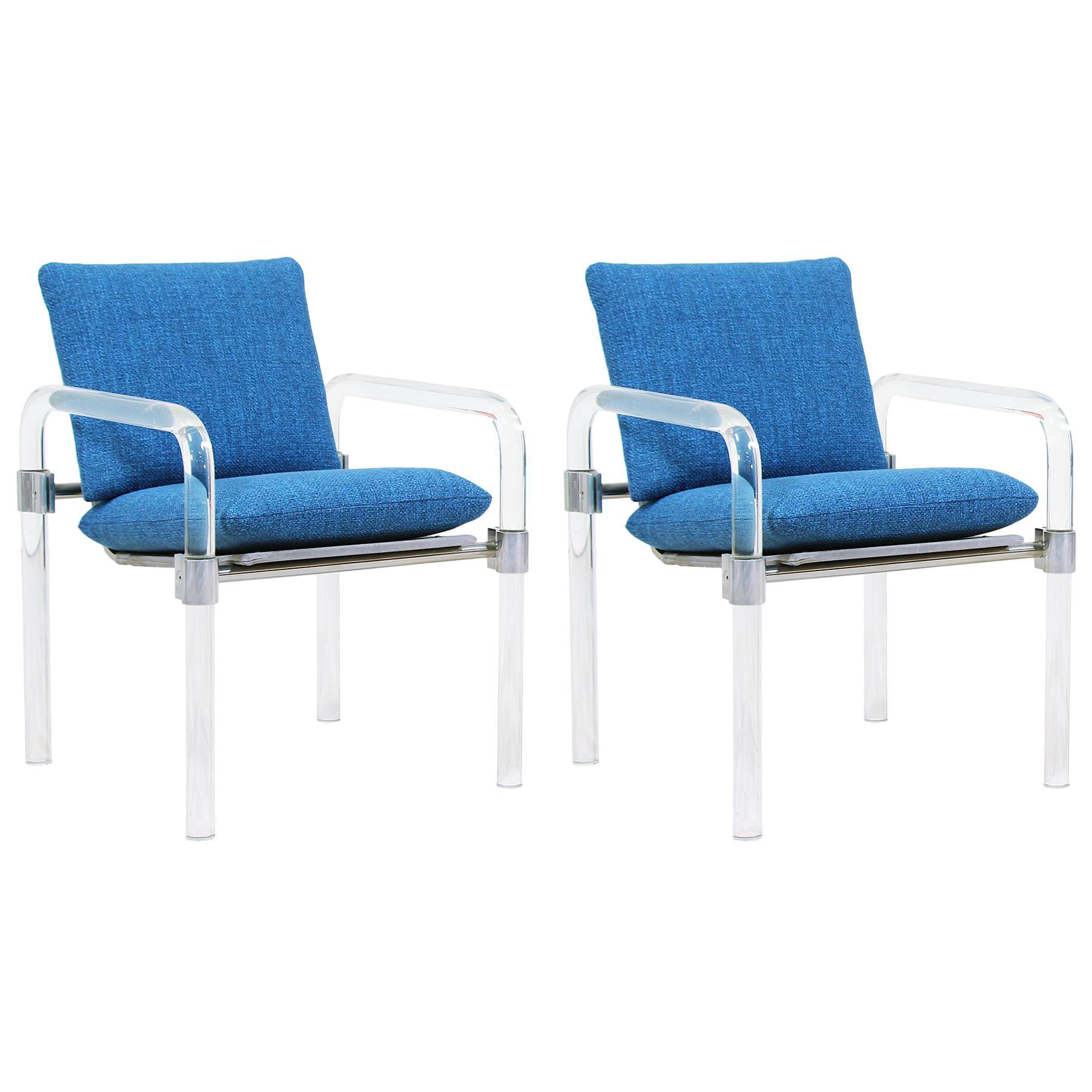 Mid-Century Modern Pipe Line Series II Armchairs by Jeff Messerschmidt