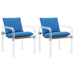 Mid-Century Modern Pipe Line Series II Armchairs by Jeff Messerschmidt