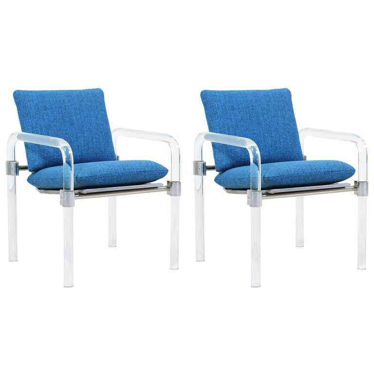 Mid-Century Modern Pipe Line Series II Armchairs by Jeff Messerschmidt For Sale