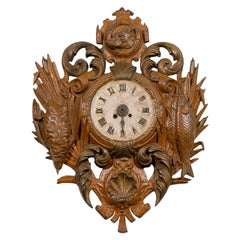 French Iron Cartel Clock