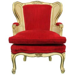 Louis XVI Style Child's Wingback Chair