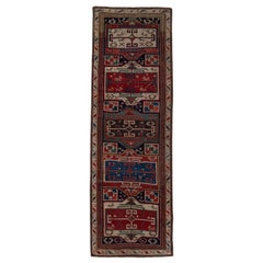 Antique Caucasian Shirvan Runner