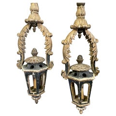 Pair of 18 Century Italian Lanterns