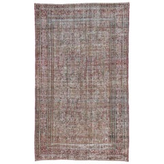 Shabby Chic Distressed Persian Oversize Carpet