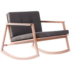 Mecedora Dedo, Mexican Contemporary Rocking Chair by Emiliano Molina for Cuchara