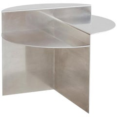 Aluminium Round Side Table