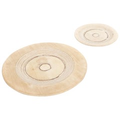 Midcentury Finnish Modern Wooden Plates by Saarinen for Keuruu