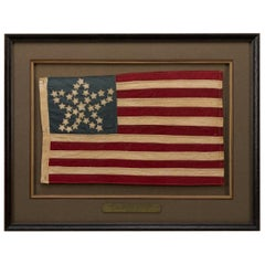 "34-Star Civil War ""Great Star Pattern"" Parade Flag, circa 1861-1865"