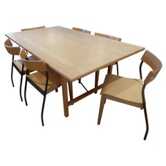 Danish Modern 1990s Handcrafted Dining Room Set