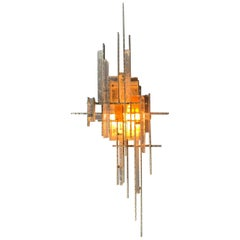 "Single Poliarte ""Bolide"" Sconce"