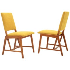Pair of Design German Dining Chairs, 1970s