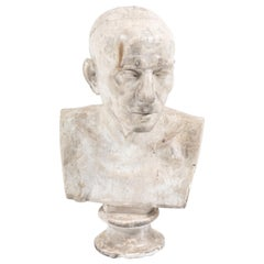 French Plaster Bust