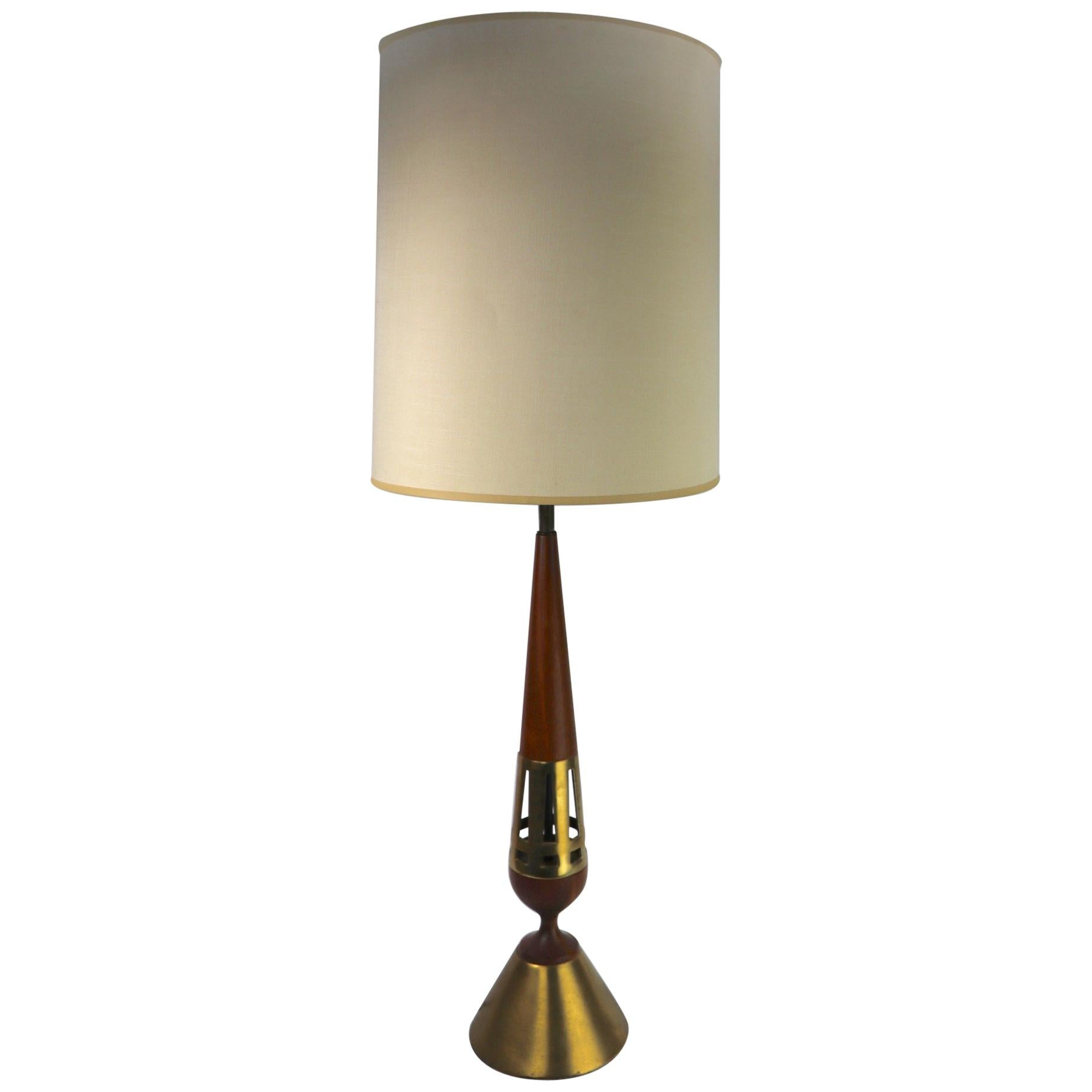 Tony Paul for Westwood Lamp Mid Century  Table Lamp