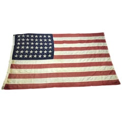Early 48 Star US Flag