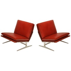 BO-561 Lounge Chairs by Preben Fabricius and Jørgen Kastholm for Bo-Ex, 1962