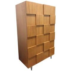 Custom Splinter Wood Wardrobe