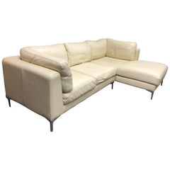 Nicoletti Leather 2-Piece Sectional, Design Within Reach