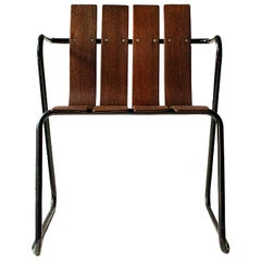 Danish Icons Jørgen and Nanna Ditzels Vintage Garden Chairs in Teak from 1955
