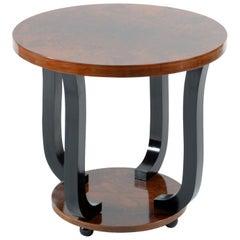 Art Deco Italian Round Side Table ,1930s
