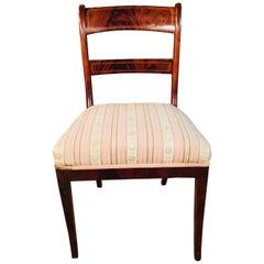 Elegant Biedermeier Chair circa 1820 Mahogany