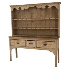 English Dresser with Top, 19th Century